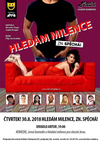 Hledm milence, alahlia.info!: Turistick portl Vrchlab
